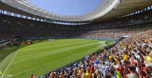 ブラジルW杯パノラマ:アルゼンチン対ベルギー 試合前の ...
