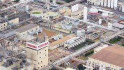 東芝大分工場。ソニーに一部を売却することになった=2015年10月30日、和田大典撮影