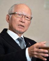 阪急阪神HD社長の角和夫さん=川平愛撮影