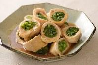 チキンの小松菜ロール煮=内藤絵美撮影