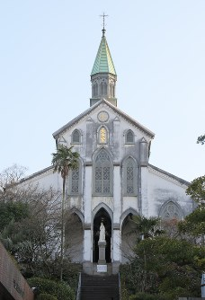 Oura Church is seen in Nagasaki in this April 12, 2012 photo. (Mainichi)