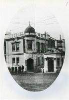 順調に事業が拡大した日本酸素合資会社の本社社屋=東京・浜町で1917年12月、大陽日酸提供