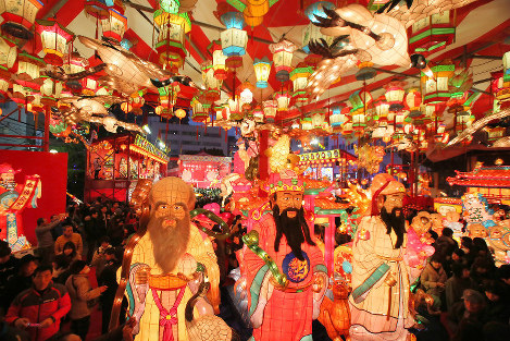 Photo Special: Lanterns light up Nagasaki for Chinese New Year