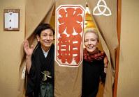 米朝さんの追善公演が行われた2月の大阪松竹座には、米朝さんのが楽屋が設けられた