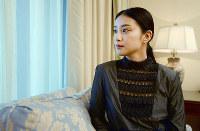 映画「テラフォーマーズ」でヒロイン役の武井咲=平川義之撮影