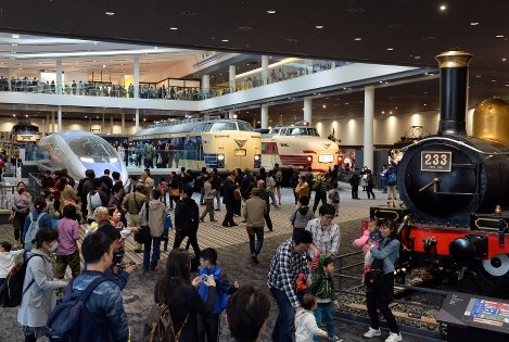Photo Special: Railway museum opens near Kyoto Station