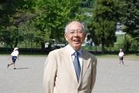 中馬清福さん(新刊著者の金井奈津子さん撮影)