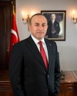 トルコ外相のメヴリュット・チャヴショール氏=トルコ大使館提供