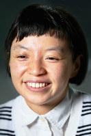 作家の温又柔(おん ゆうじゅう)さん=東京都千代田区で、森田剛史撮影