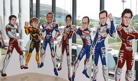 Photo Journal: G-7 Superheroes