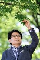 増田寛也元総務相=中村藍撮影