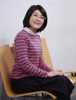 光浦靖子さん=木葉健二撮影