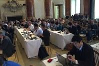 ウィーンで開かれた「デジタルメディアヨーロッパ2016」=4月20日