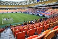 マナウス競技場は客席の9割超が空席だ