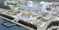 九州電力の川内原発。九電は「耐震安全性は十分に確保」との見解だ=鹿児島県薩摩川内市で2015年5月、本社ヘリから須賀川理撮影
