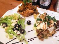 徳島市川内町のカリフラワーがインド、イタリアン、トルコ風に「国際化」した一皿です