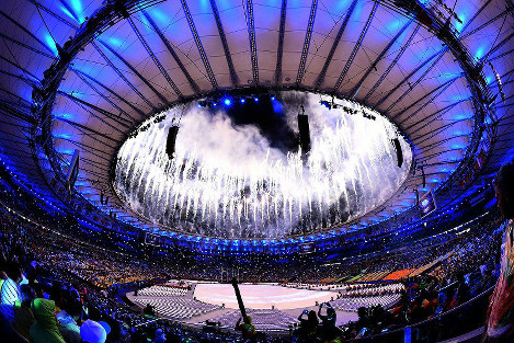 Photo Special: Rio Games comes to close, Olympic flag handed over to Tokyo