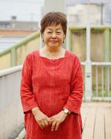 「基地・軍隊を許さない行動する女たちの会」共同代表の高里鈴代さん=大阪市内で、反橋希美撮影