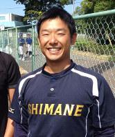 島根県内の野球愛好家とNPOを設立した若狭彰さん