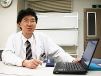 大阪大准教授(精神医学)の橋本亮太さん=吹田市の大阪大学医学部で、佐々木雅彦撮影