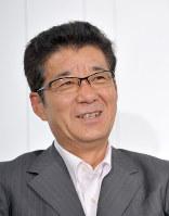 おおさか維新の会の松井一郎代表=大阪市北区で2016年7月10日、平川義之撮影