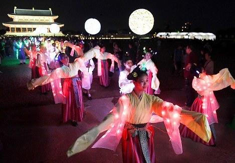 Photo Special: Nara basks in colorful festival glow