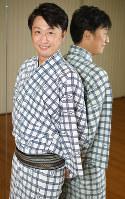 二代目喜多村緑郎を襲名することとなった歌舞伎俳優の市川月乃助さん=東京都中央区で2016年8月19日、内藤絵美撮影