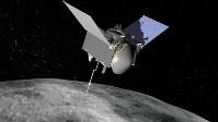 「オシリス・レックス」の想像図=NASA提供
