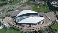 埼玉スタジアム2002のある浦和美園エリアは、2020年の東京五輪に向けた注目エリアの一つといえる=2013年9月撮影