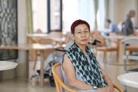社会学者の上野千鶴子さん=東京都武蔵野市で2016年6月27日、内藤絵美撮影
