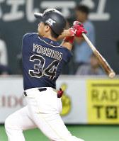 【日本ハム1−11オリックス】14日の日ハム戦では2本塁打を放った=札幌ドーム