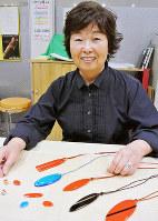 いきいきKANフュージング体験工房講師の面高のり子さん=富山市新富町のCiCで、青山郁子撮影