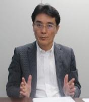ダイヤモンドパワーの小津慎治社長=工藤昭久撮影