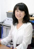 「女性活躍と介護の問題を同時に解決を」と話すマザーネットの上田理恵子社長=大阪市で、古屋敷尚子撮影