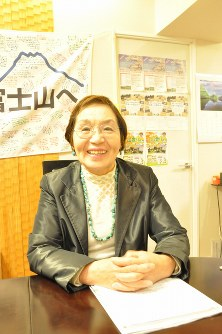 Junko Tabei is pictured at her office in Tokyo in this March 7, 2016 file photo. (Mainichi)