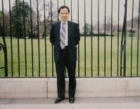 1980年代後半、出張で訪れた米ニューヨーク州ロチェスターにある米ゼロックスの研究所前で
