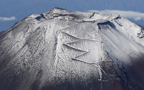 Photo Journal: Frosted Fuji
