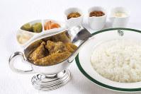 名物料理の純印度式カリー=新宿中村屋提供
