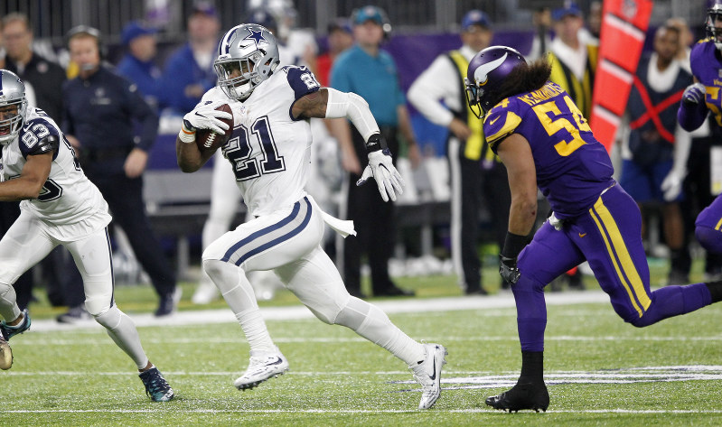 Wilber's big play keys Cowboys' 11th straight victory