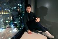 映画「君の名は。」の新海誠監督=東京都千代田区の東宝で2016年12月1日、森田剛史撮影