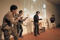 「ジハード」の一場面=カメラマン、石澤知絵子撮影