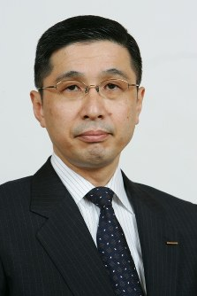 Nissan Motor Co.'s co-chief executive officer Hiroto Saikawa (Mainichi)