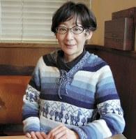 絵本作家の武田美穂さん=東京都世田谷区で