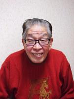 三遊亭円丈さん=濱田元子撮影