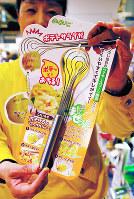 天神ロフトで注目の調理器具「ののじ ポテッとポテサー」=福岡市中央区天神の天神ロフトで、小原擁撮影