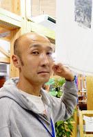 サントリー地域文化賞「砂浜美術館」理事長の村上健太郎さん=真明薫撮影