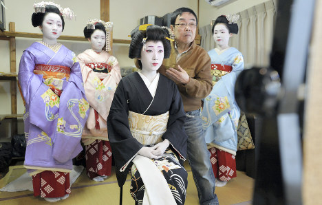 Photo Journal: Kyoto dresses up for spring