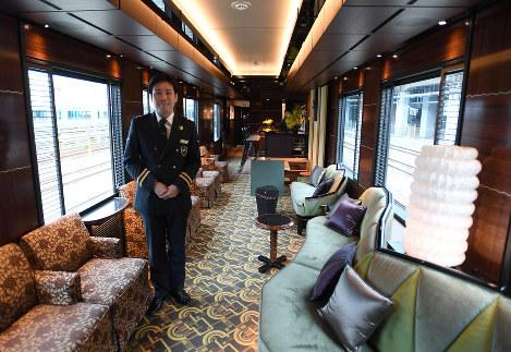 Photo Journal: Luxury locomotive