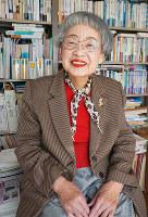 経済学者で大阪市立大名誉教授の竹中恵美子さん=大阪市内で、反橋希美撮影