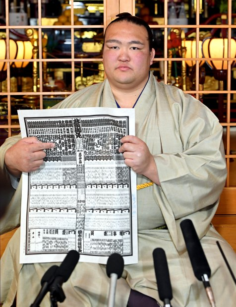 Photo Journal: New yokozuna in town